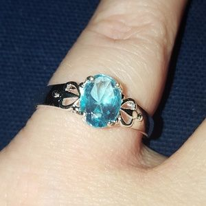 Jewelry - Aquamarine filigree
